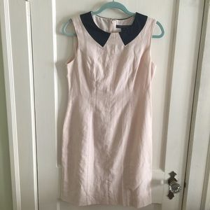 French Connection pale pink dress